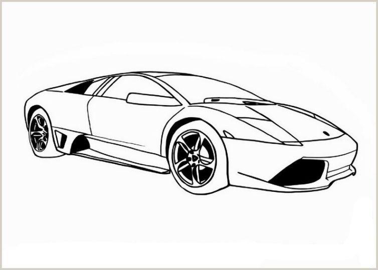 Lamborghini Malvorlage
