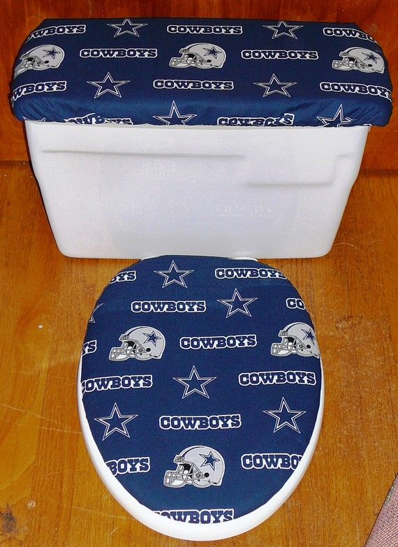 navy blue toilet seat cover. Dallas Cowboys Toilet Seat Cover and Tank Lid Set