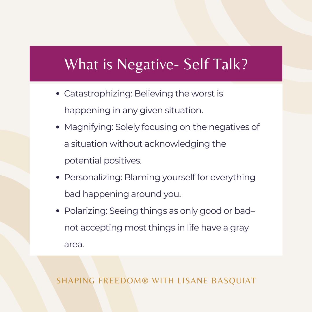 What is Negative Self-Talk?