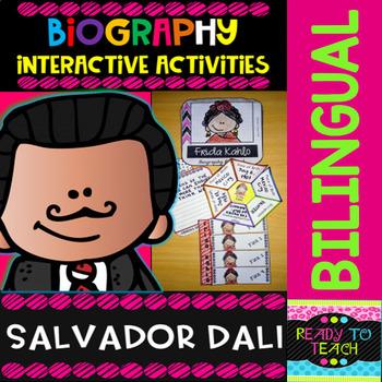 ENGLISH VERSIONYou will find a set of 4 different tasks to work on the biographies of Salvador Dali. There are 4 interactive activities to be done:Interactive Task 1: Students have to search facts about the biography of this famous person and write those facts related to his/her early and family li...