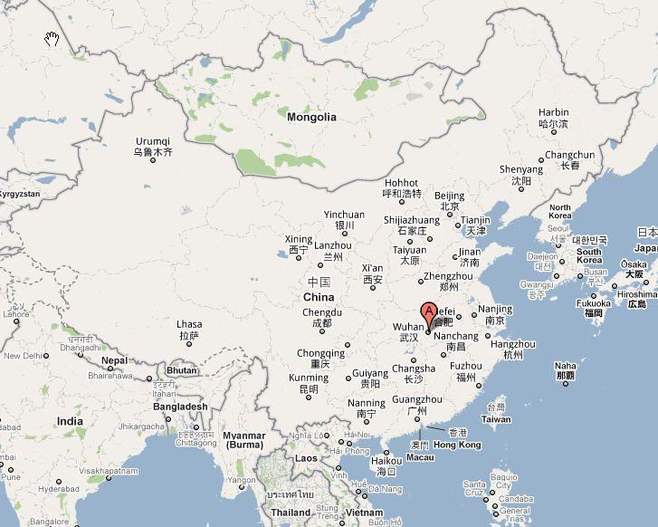 Wuhan map wuhan map china pinterest wuhan wuhan map wuhan map gumiabroncs Images