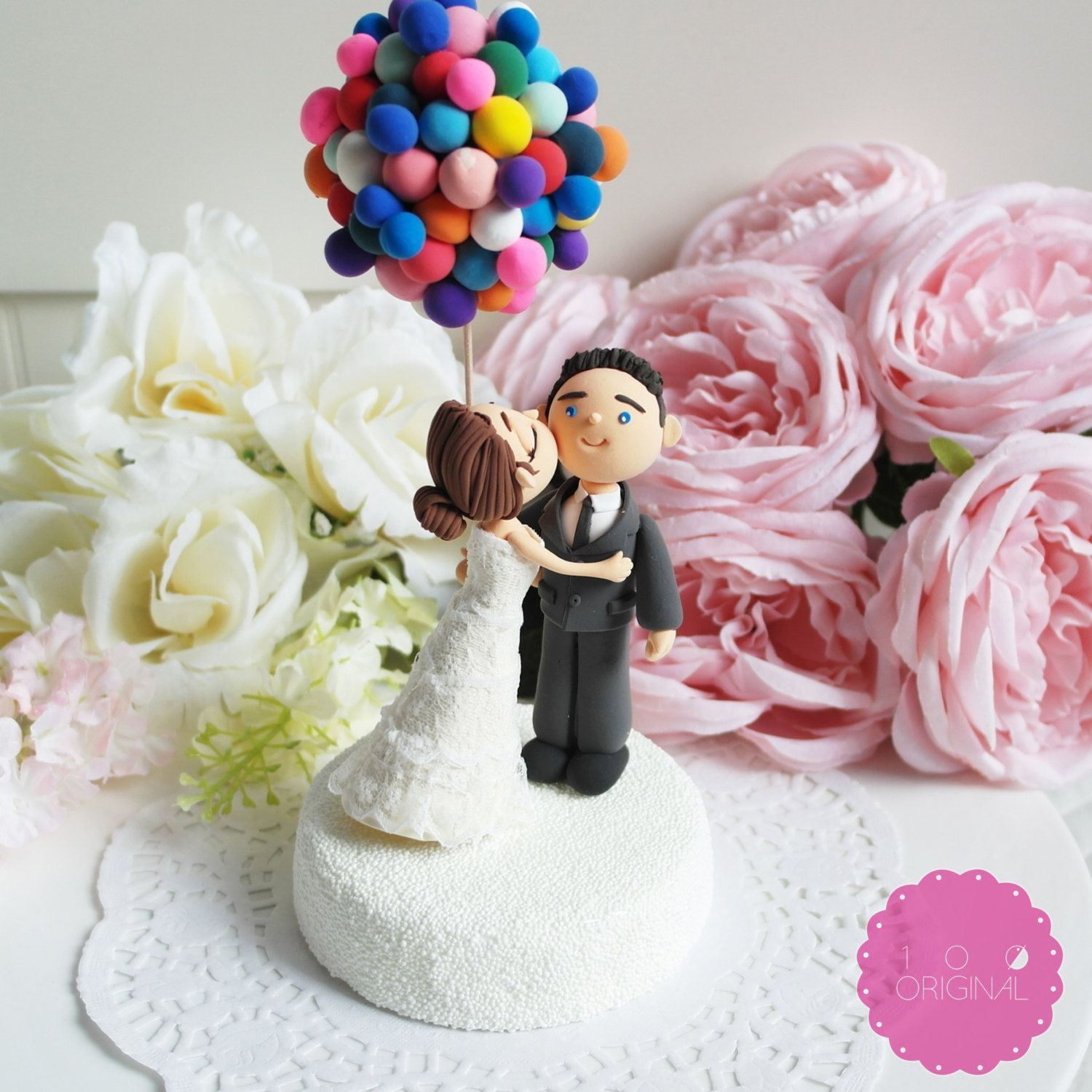Up Themed Cake Topper