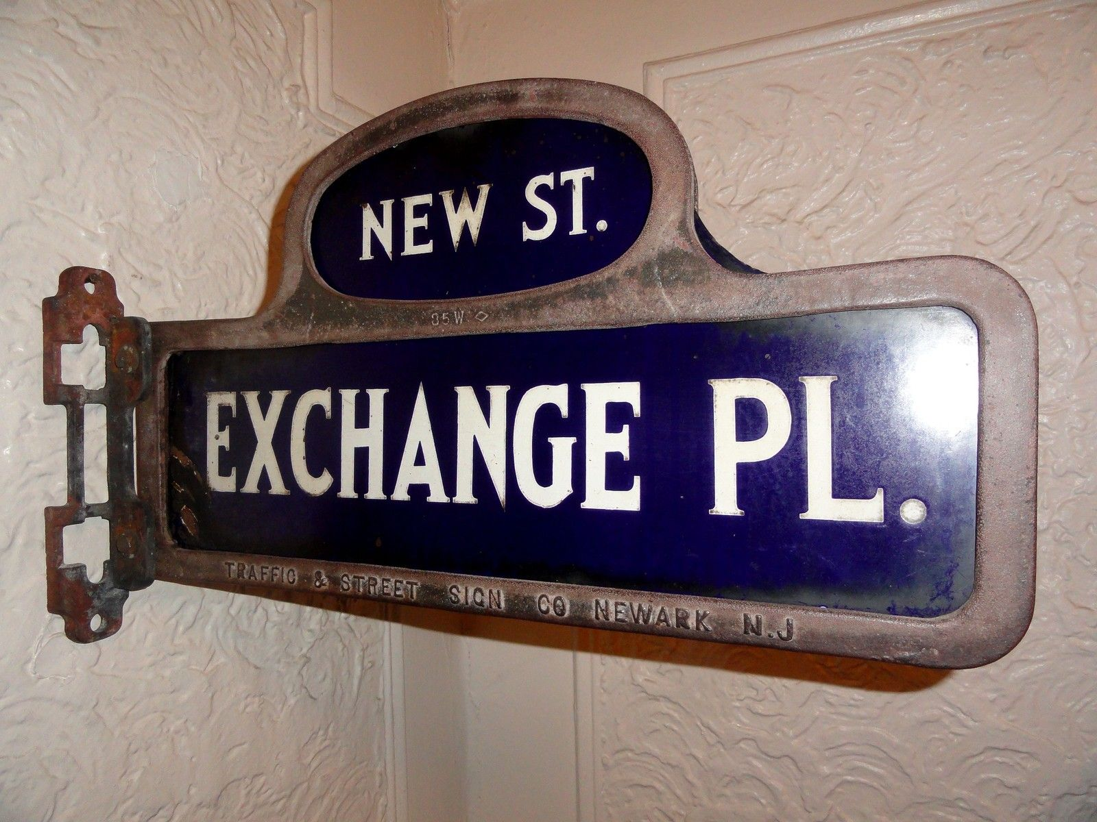 Yes I M Not Kiddin U Vintage New York Stock Exchange Nyse Ny Market Antique Old Nyc Wall Street Sign Stock Exchange Market Stock Exchange Vintage New York