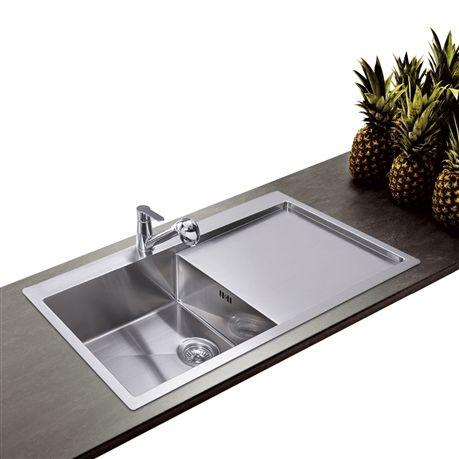 Booster votre cuisine avec un évier en inox qui a de l´allure