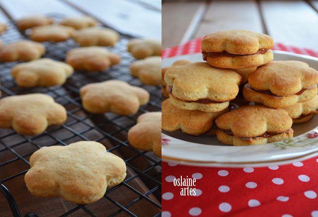 Biscoitos Amanteigados De Leite Condensado Receita 2 Xicaras De