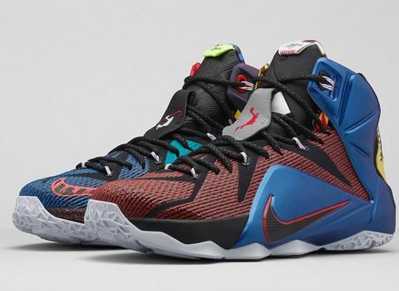 Top 2015  Nike LeBron James Signature Shoes - Nike What The LeBron ... 195c23150012