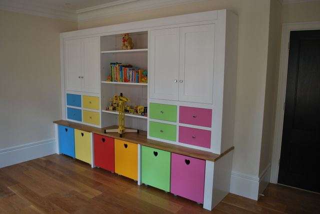 Playrooms Under Stars | Lots Of Easy Storage, Like The Wheelie Boxes So  Toys Can · Childrens Bedroom FurniturePlayroom ...