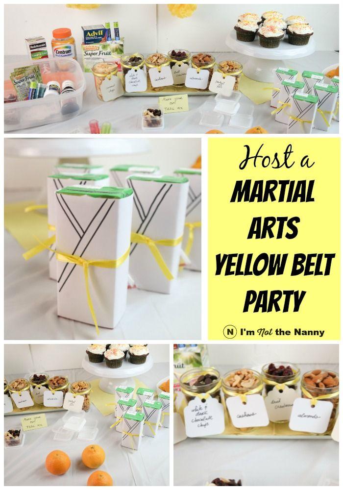 Martial Arts Party Ideas