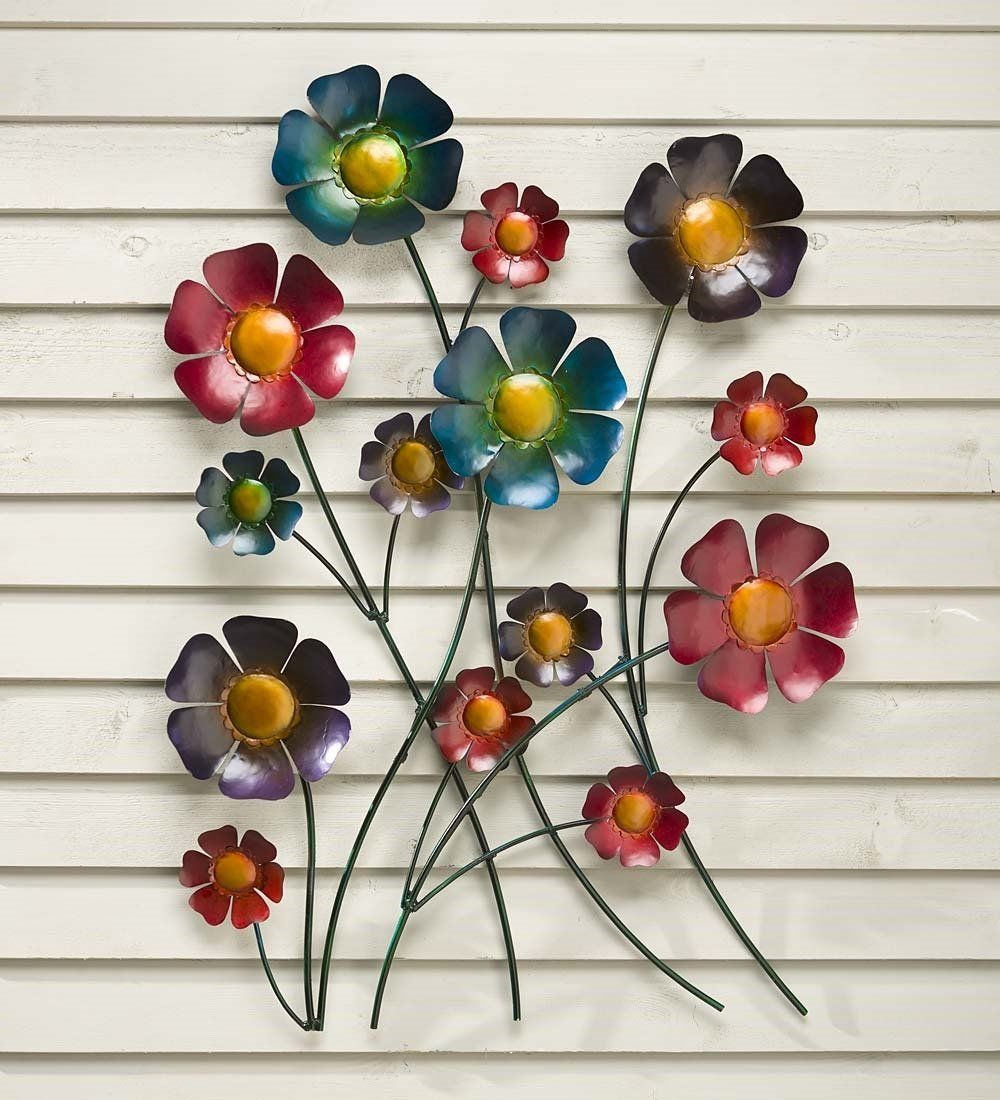 Metal flower wall art check out this great product this is an