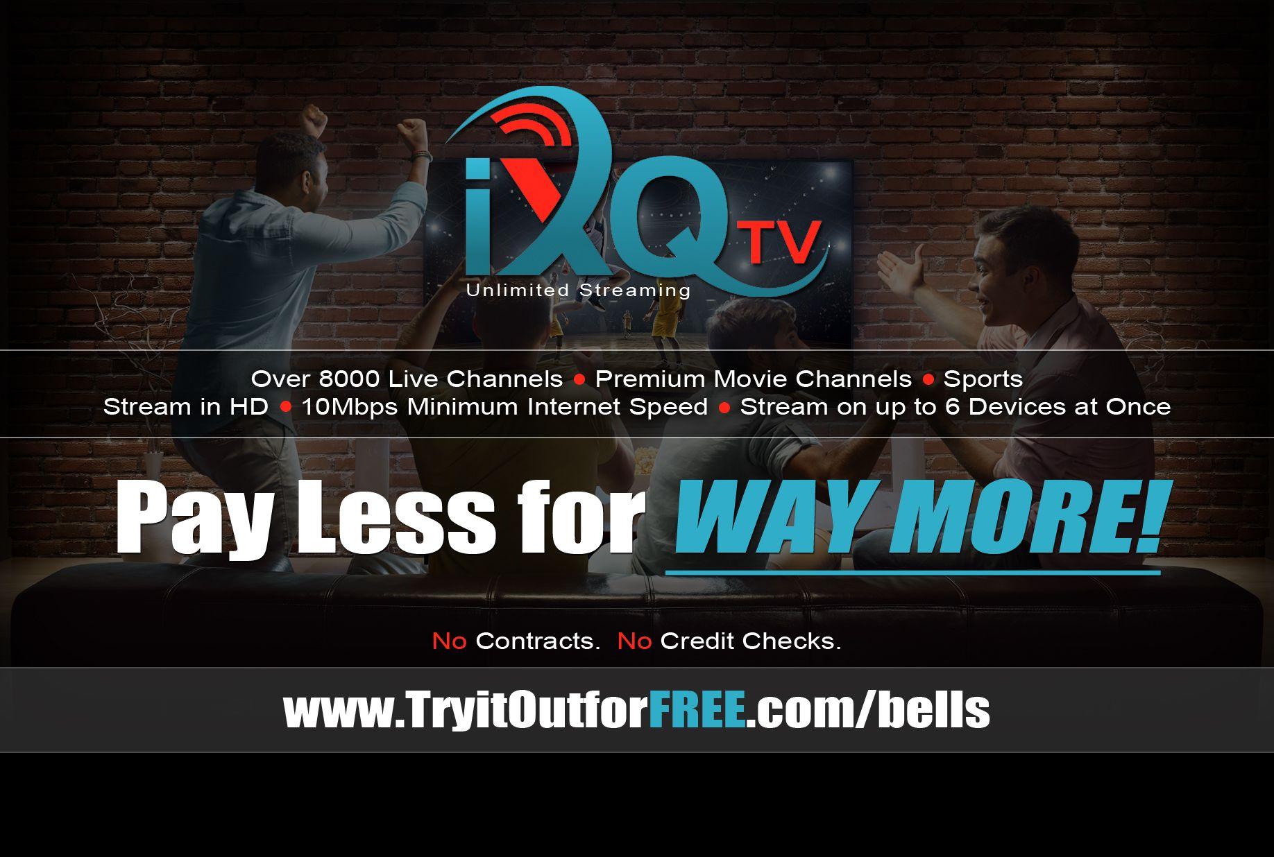 iXQtv - Free Trial System | ixqtv com | Sports channel, Pay per view