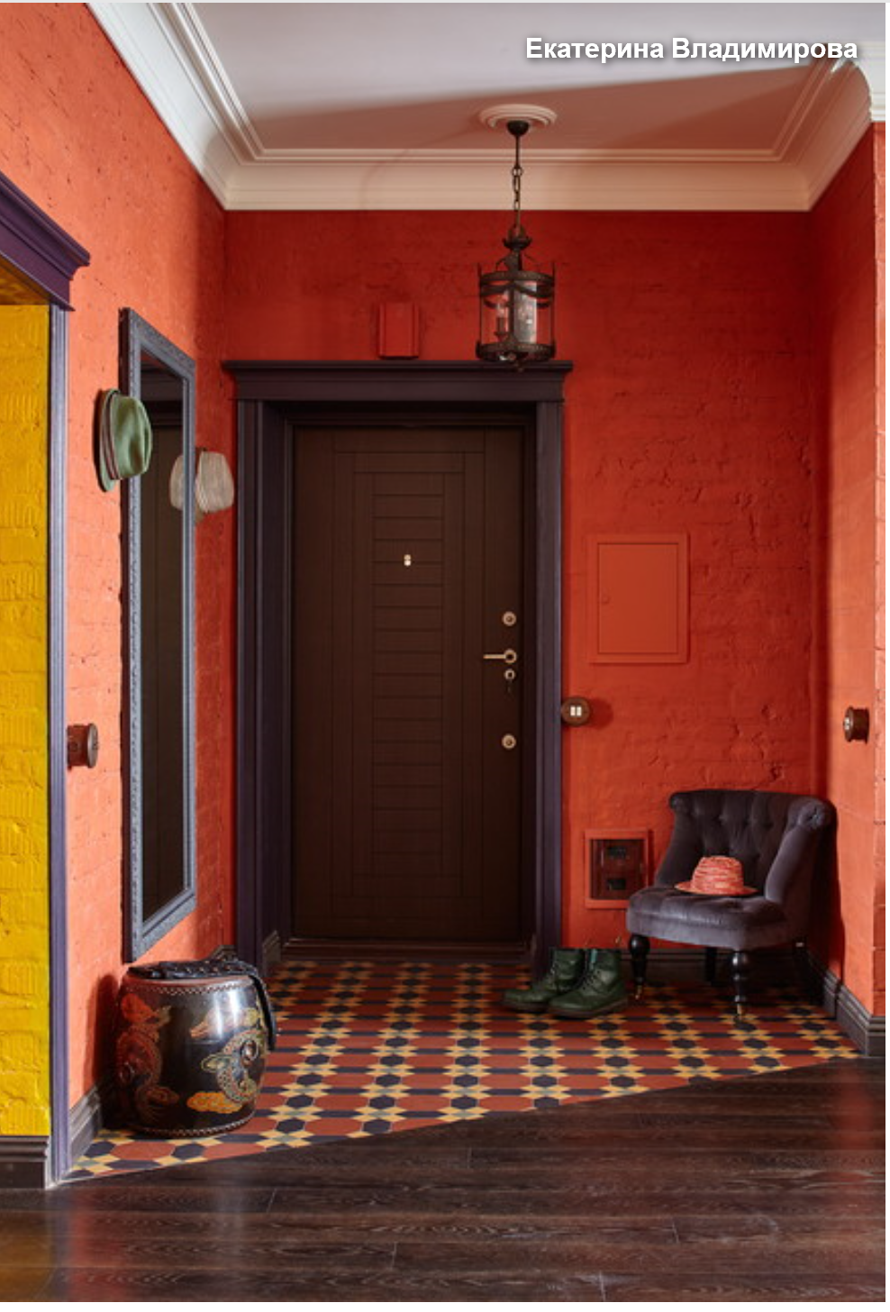 houzz blood red orange and mustard trending decor on show me beautiful wall color id=37731