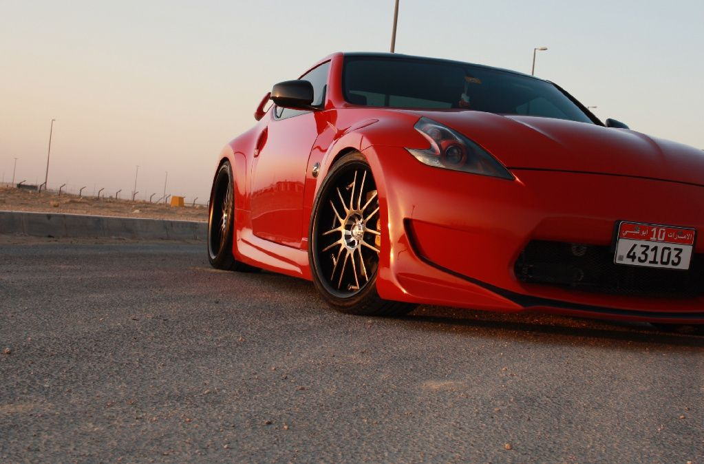 nissan 370z w amuse body kit slammed nissan 370z. Black Bedroom Furniture Sets. Home Design Ideas