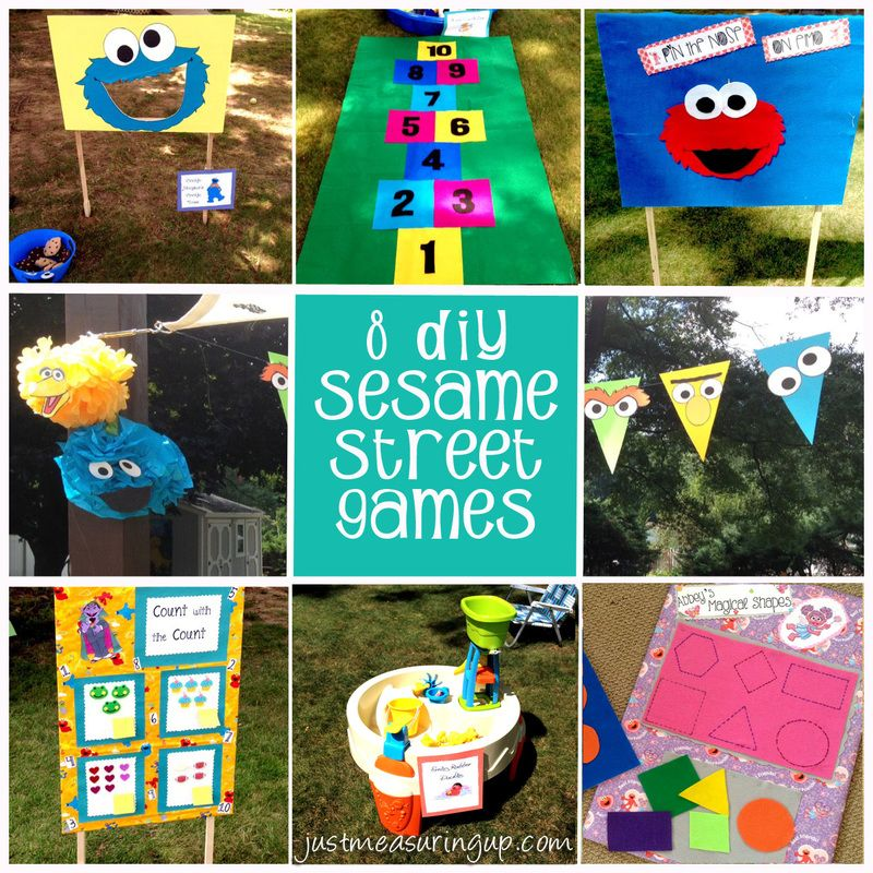 How to throw a diy sesame street party that everyone will remember sesame street party games filmwisefo Choice Image