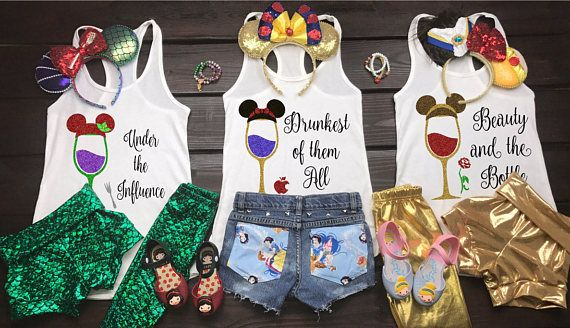 Food And Wine Shirt Disney Princess Drinking