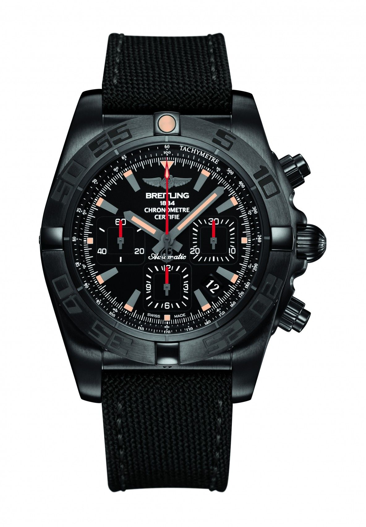 c009764663f Chronomat 44 Blacksteel 05 Relógios Masculinos
