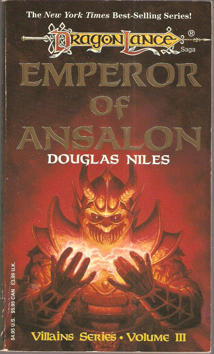 Emperor Of Ansalon By Douglas Niles Dragon Lance border=