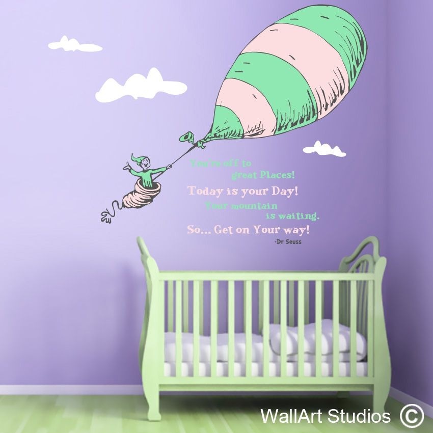 Charmant Dr Seuss Custom Wall Art Vinyl Stickers