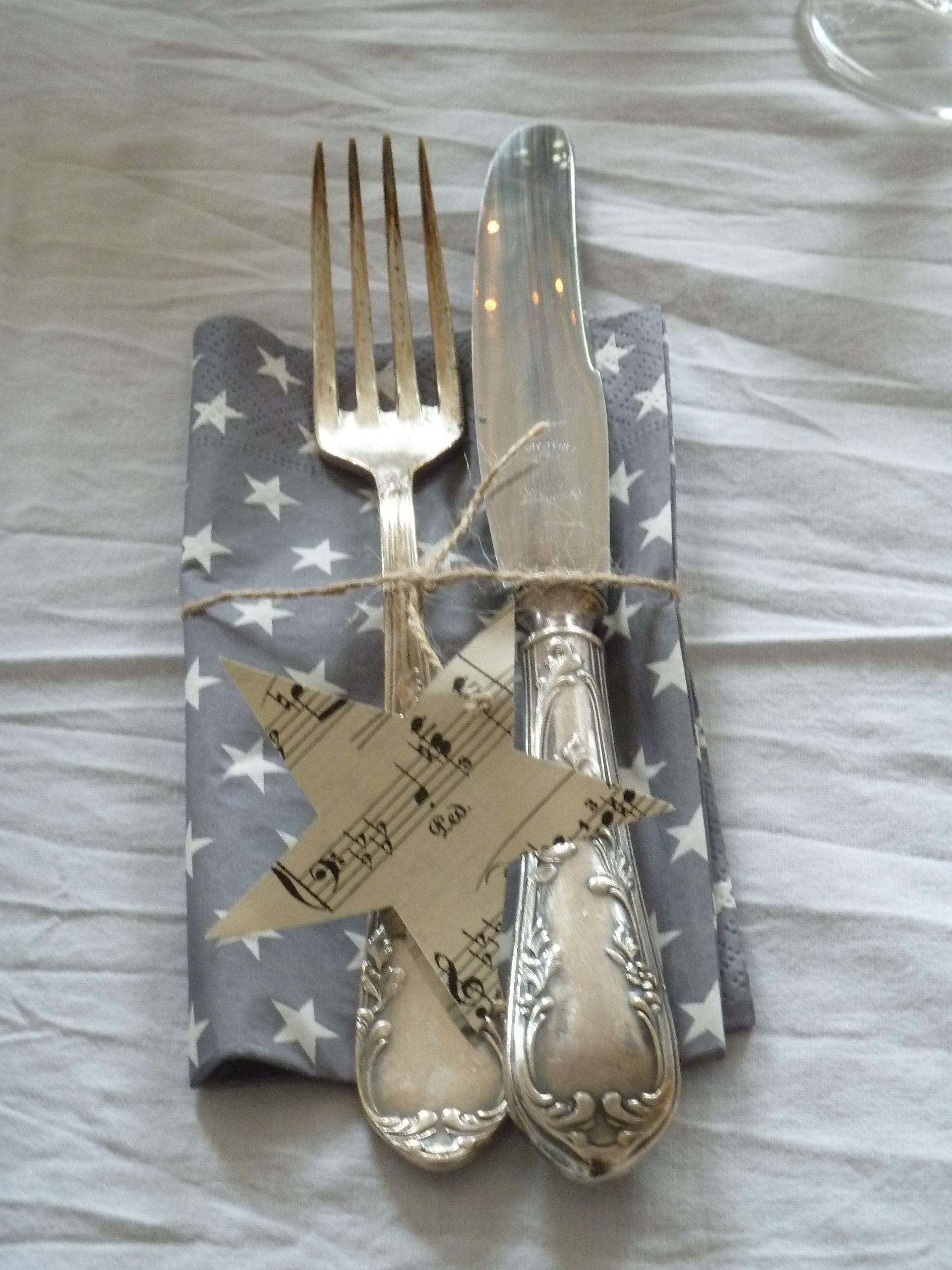 Tischdeko tischdeko bestecktaschen serviettenringe for Tischdekoration weihnachten dekoration