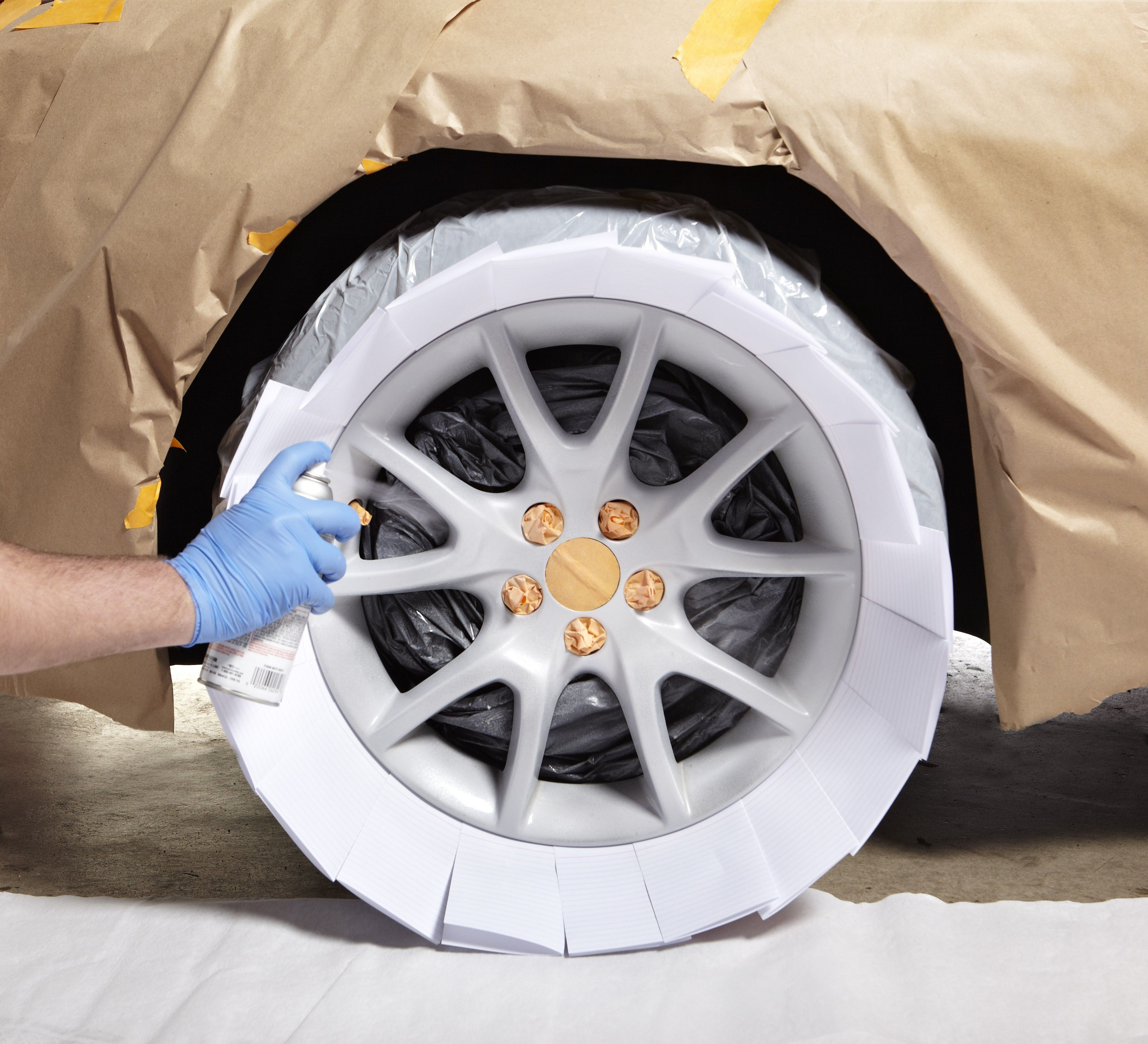 Give Your Car Rims A Sleek Silver Look With Peel