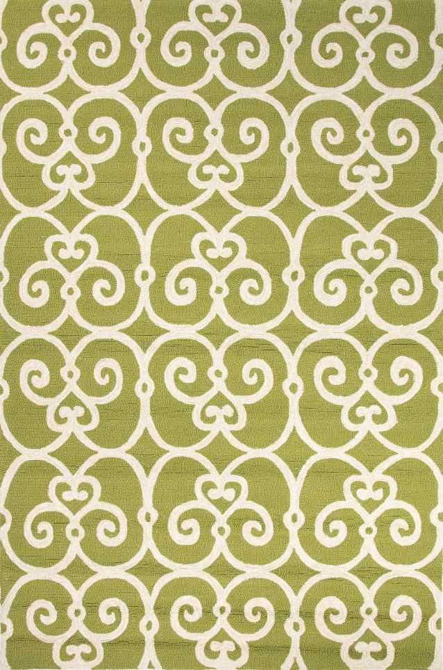 Jaipur Ba33 Geometric Pattern Polypropylene Green Ivory Indoor Outdoor Area Rug 5x7 6 Furniture Home Decor Wall Dec Jaipur Rugs Area Rugs Jaipur Living