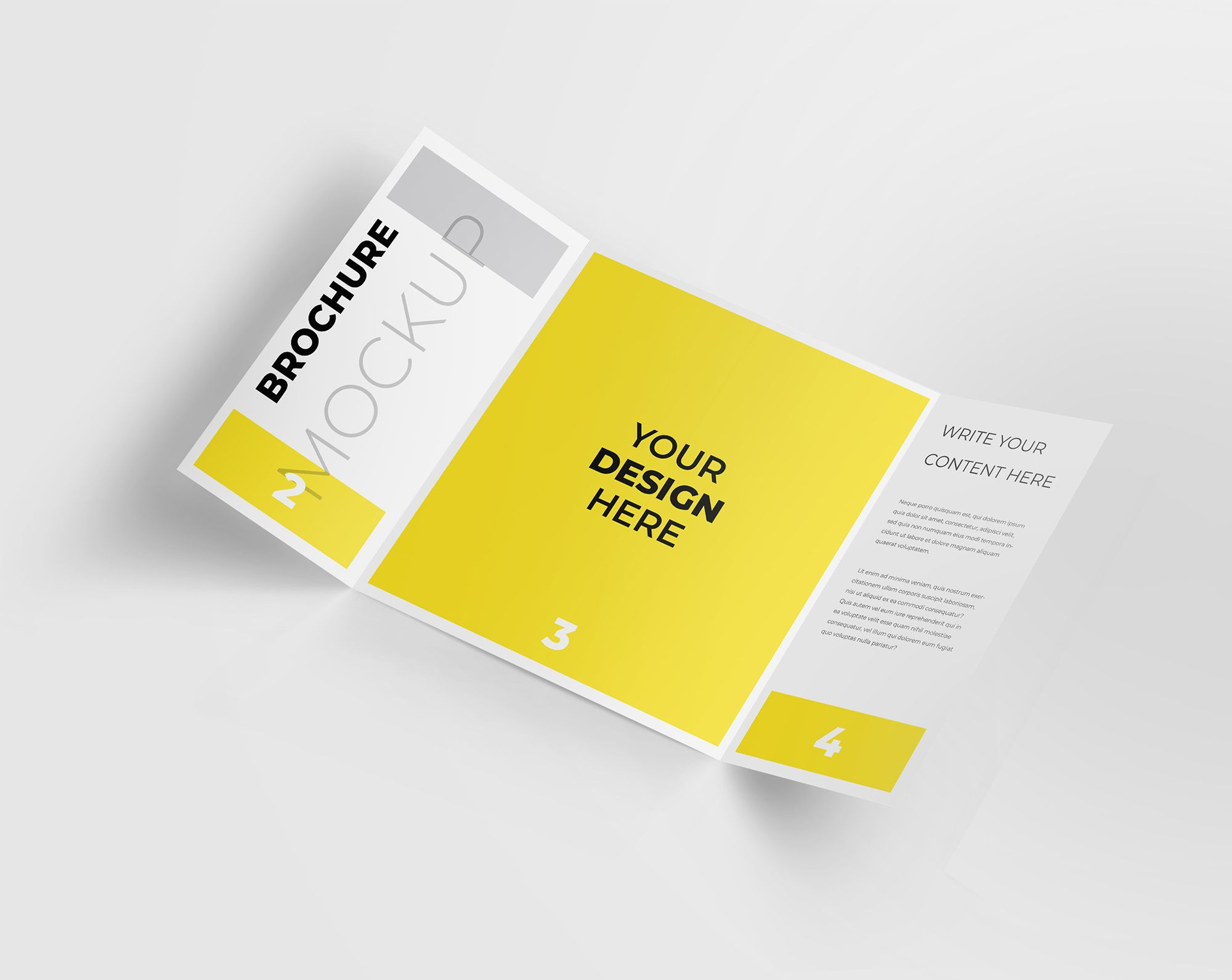 60 Free Brochure Mockup Templates For Your Designs Brochure Mockup Free Brochure Template Brochure Mockup Psd