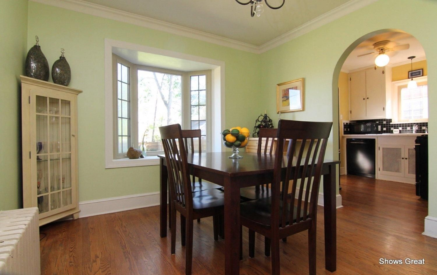 Crown molding in the old dining room | Home decor, Dining ...