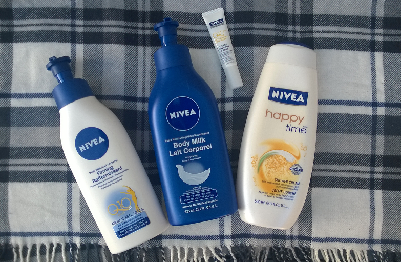 Nivea Body Care Products Reviewed (with Bonus Eye Care