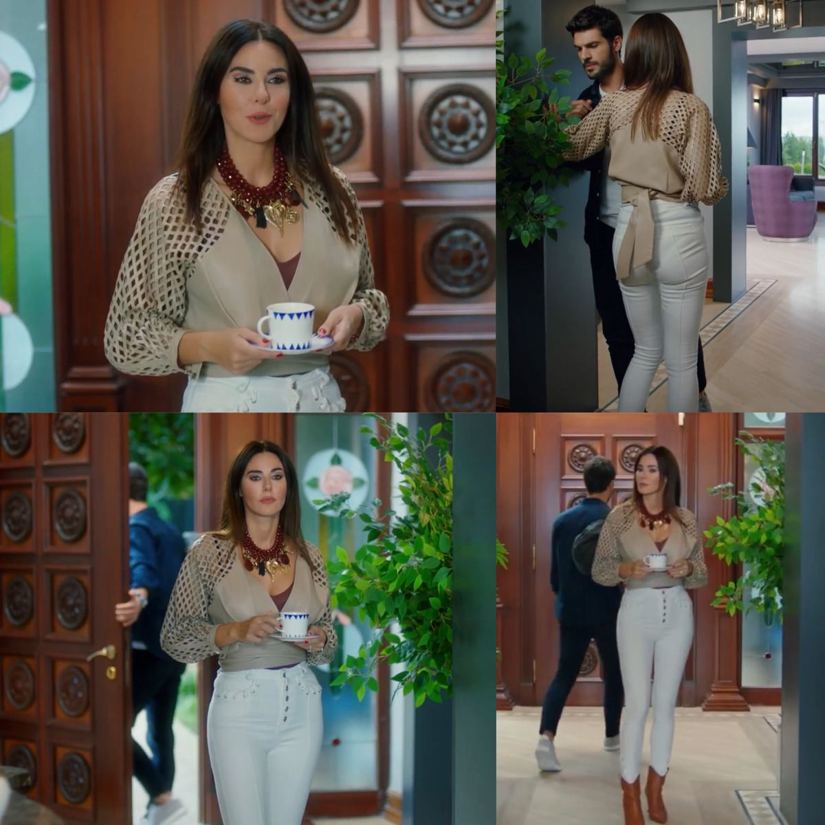 Sol Yanim Asena Bolum 3 Tv Show Outfits Outfits Tv Shows