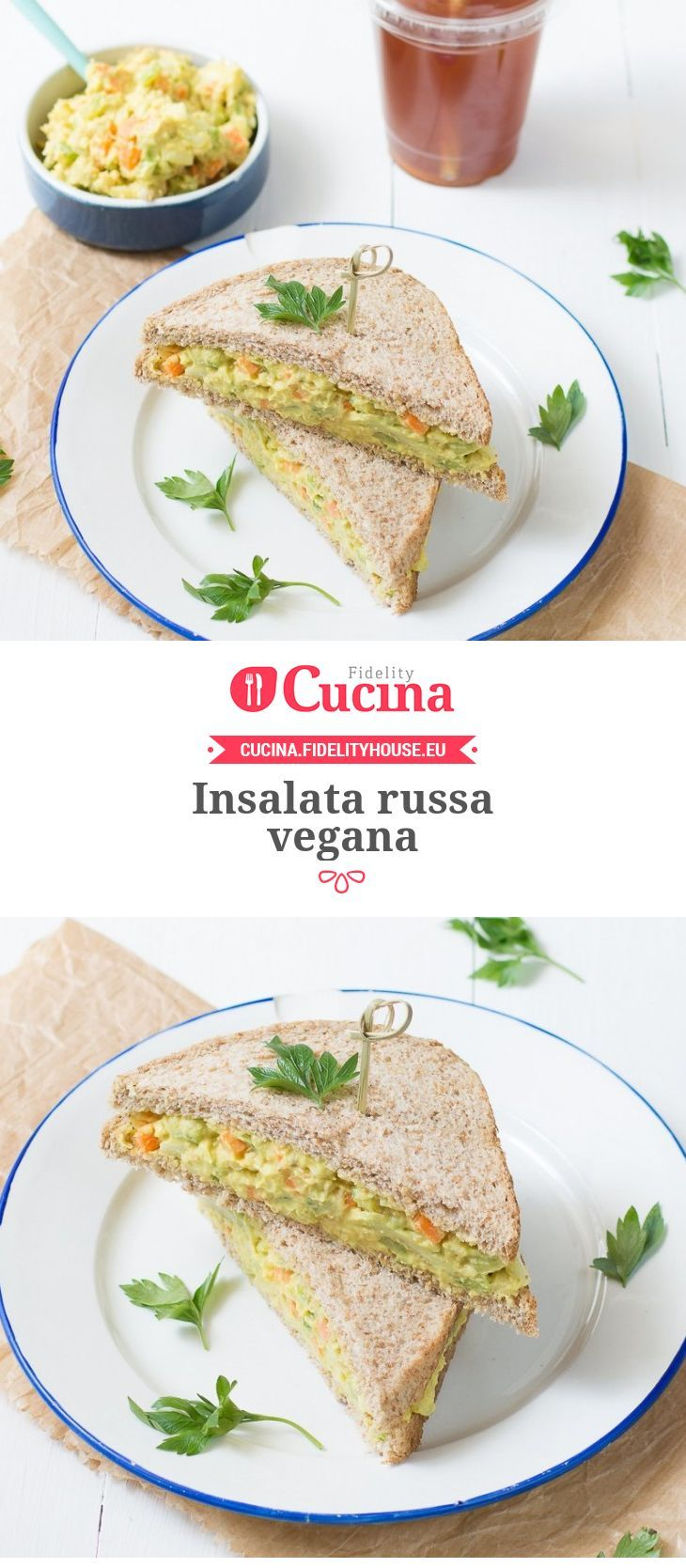 Insalata vegana russa /