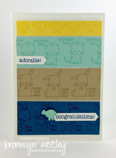 addINKtive designs: CASEing the Catty #85 - For Babies + Kids - Made with Lovem