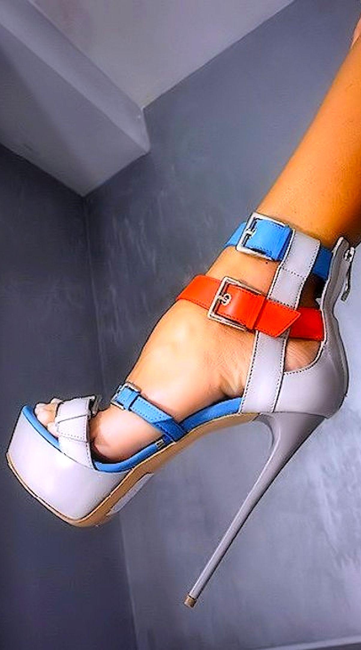 Gianmarco Lorenzi   Heels, Leather
