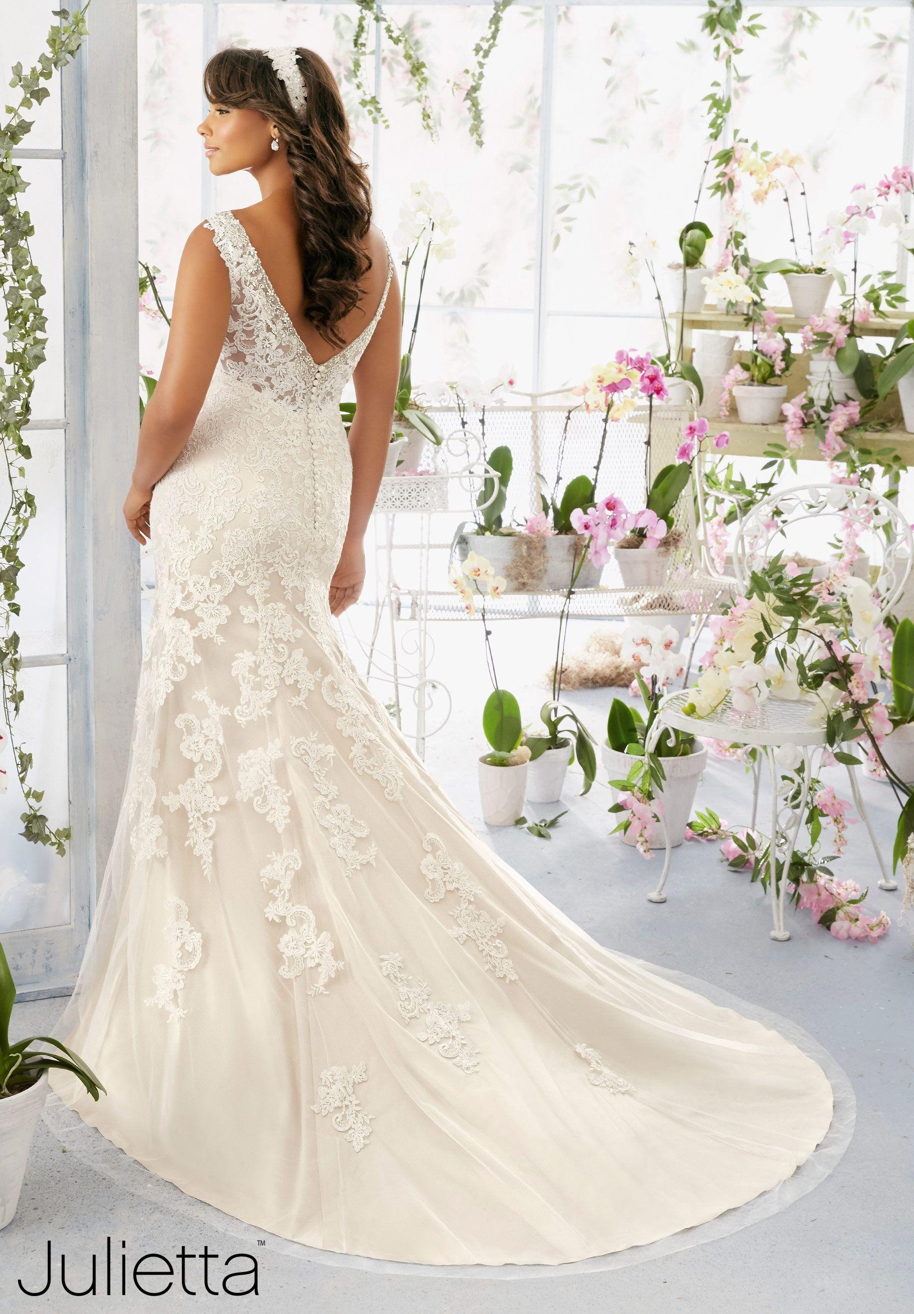 Wedding Dresses Designer Julietta Dress Style 3195 Plus Size Wedding Gowns Wedding Gowns Mermaid Wedding Gowns Vintage [ 2636 x 1834 Pixel ]