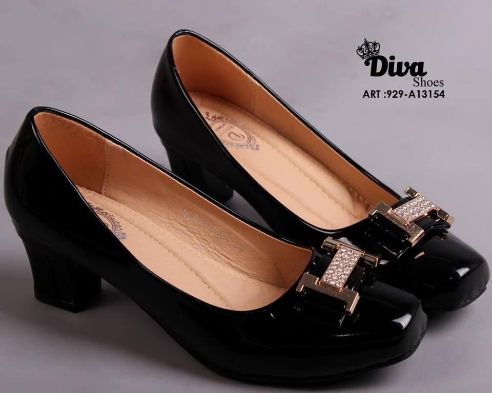 Kode Ms336 Warna Black Size 36 40 Tinggi 5cm Sepatu Flat
