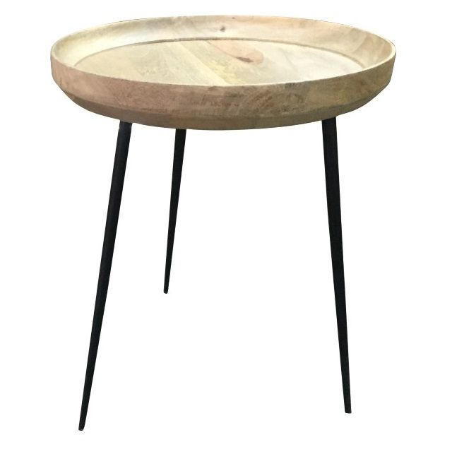 Iron Side Table With Images Side Table Table Round Side Table