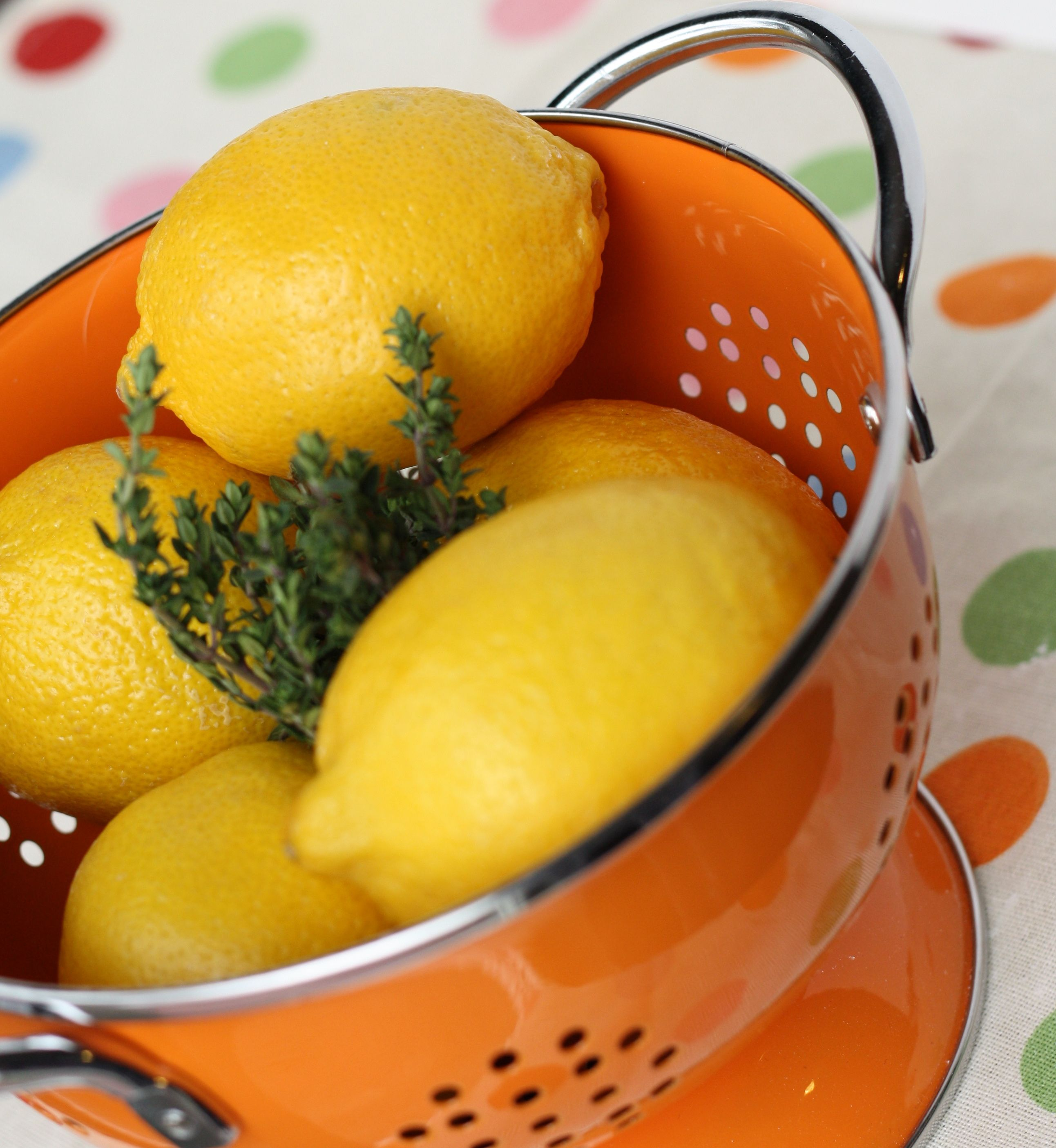 Dont Be Scared, or Lemon Bars with Thyme