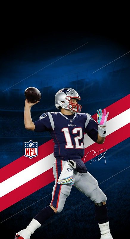 12 Tom Brady (New England Patriots) iPhone X/XS/XR