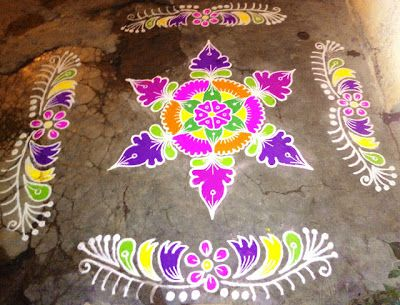 Free Download Happy New Year 2018 Rangoli Designs Images  Rangoli