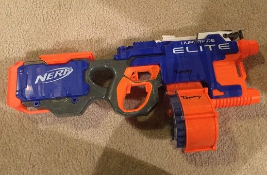 Automatic Nerf Gun for Small Kids