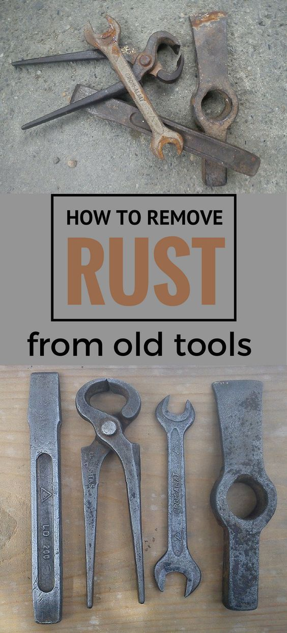 Learn How To Remove Rust From Old Tools With Vinegar