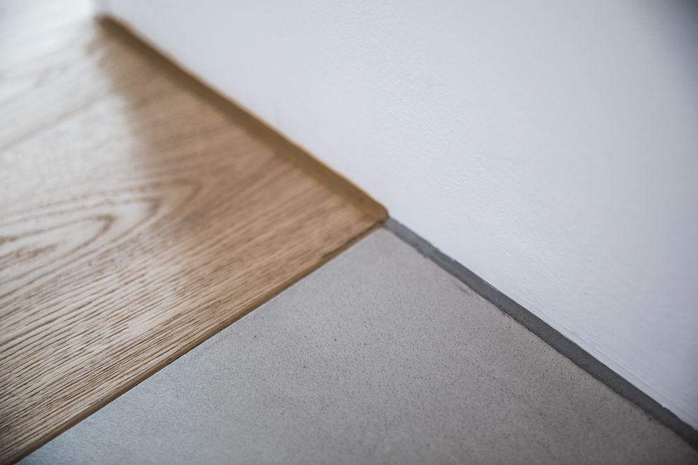Bodenübergänge Parkett Designboden Sichtestrich