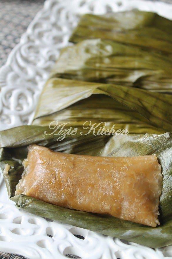Azie Kitchen Lepat Pisang Malaysian Food Malaysian