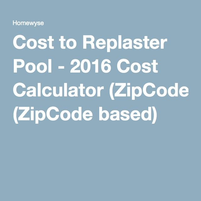 Homewyse Calculator Cost To Replaster Pool Vinyl Siding Vinyl Siding Cost Siding Cost