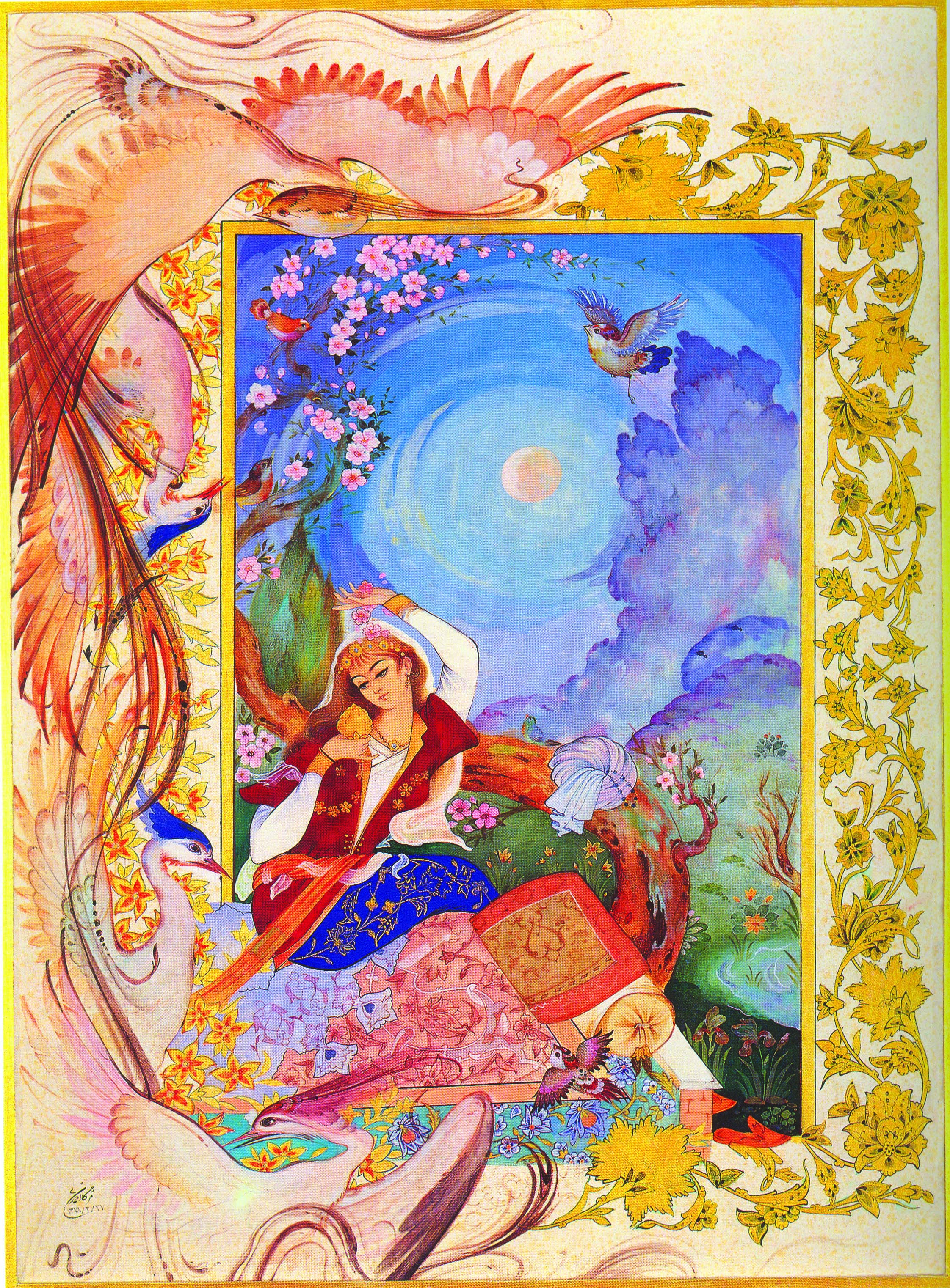 Http S3 Picofile Com File 8211463392 Iranian Miniatures 22 Jpg Painting Sanat Minyaturler