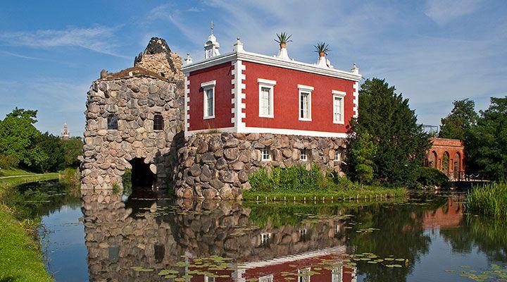 Dessau Worlitz Villa Hamilton The Stein Lit Stone