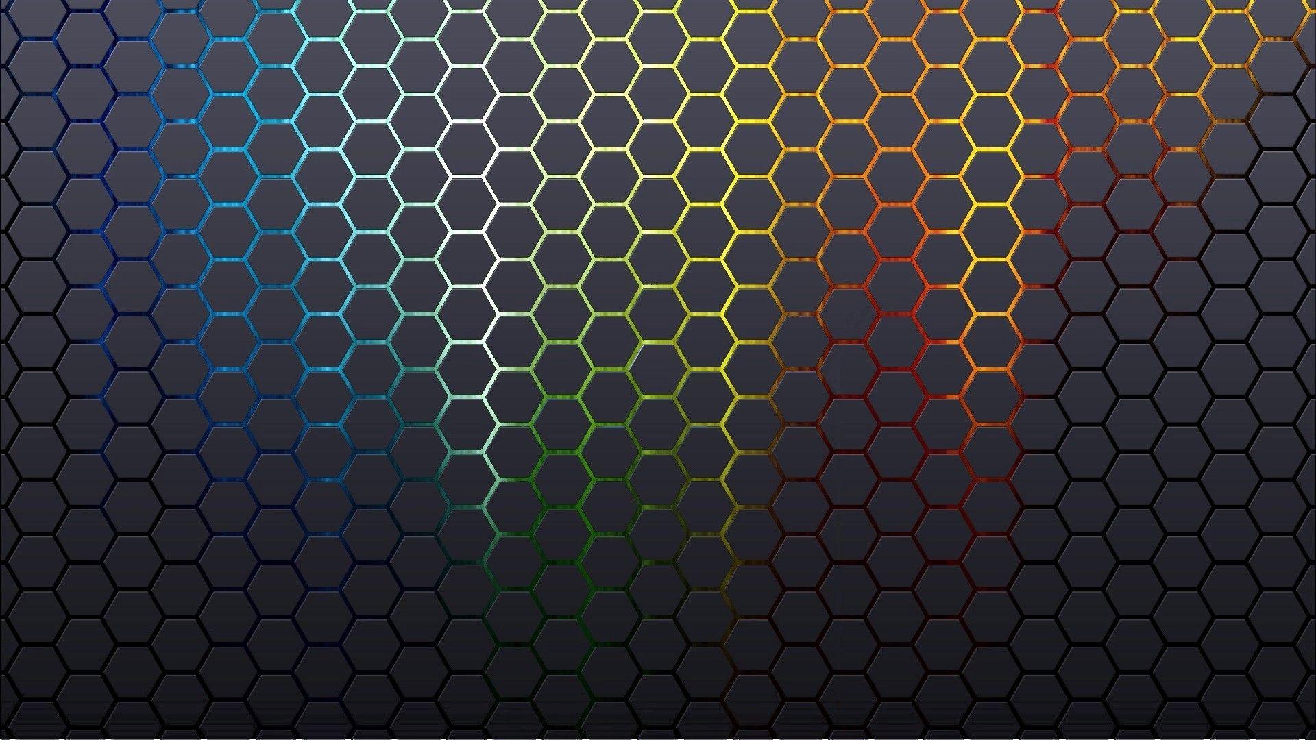 Texture Colorful Beehive Patterns Minimalism Wallpaper Hexagon Wallpaper Abstract Textured Wallpaper