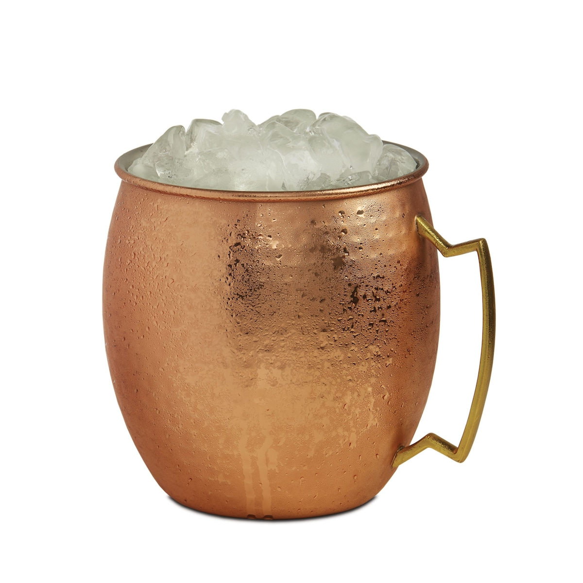 Handmade Pure Copper//Stainless Steel Moscow Mule Mug Glass Cup Bar Wine Beer