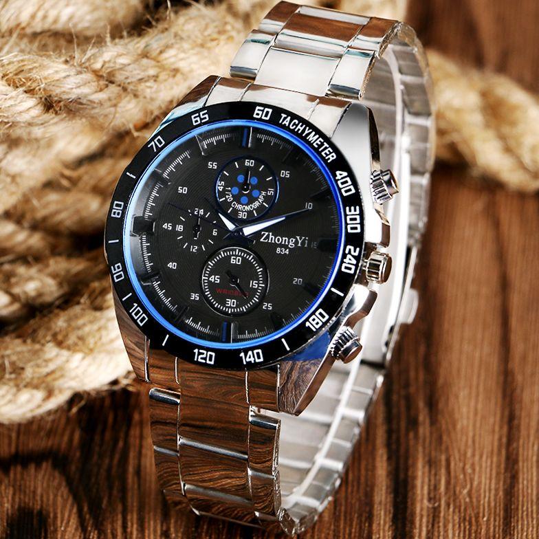 $7.50 (Buy here: http://appdeal.ru/5can ) Cool Modern Sport Wrist Watch Men Boy Fashion New Arrival Deco Small Dial Business Watch  Men Dress Wristwatch Quartz Watches for just $7.50
