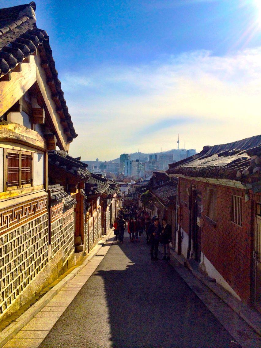 Hanok Village Seoul, South Korea