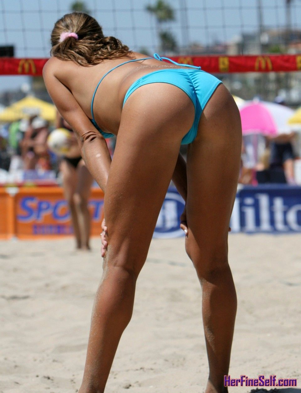nude hot beach volleyball women