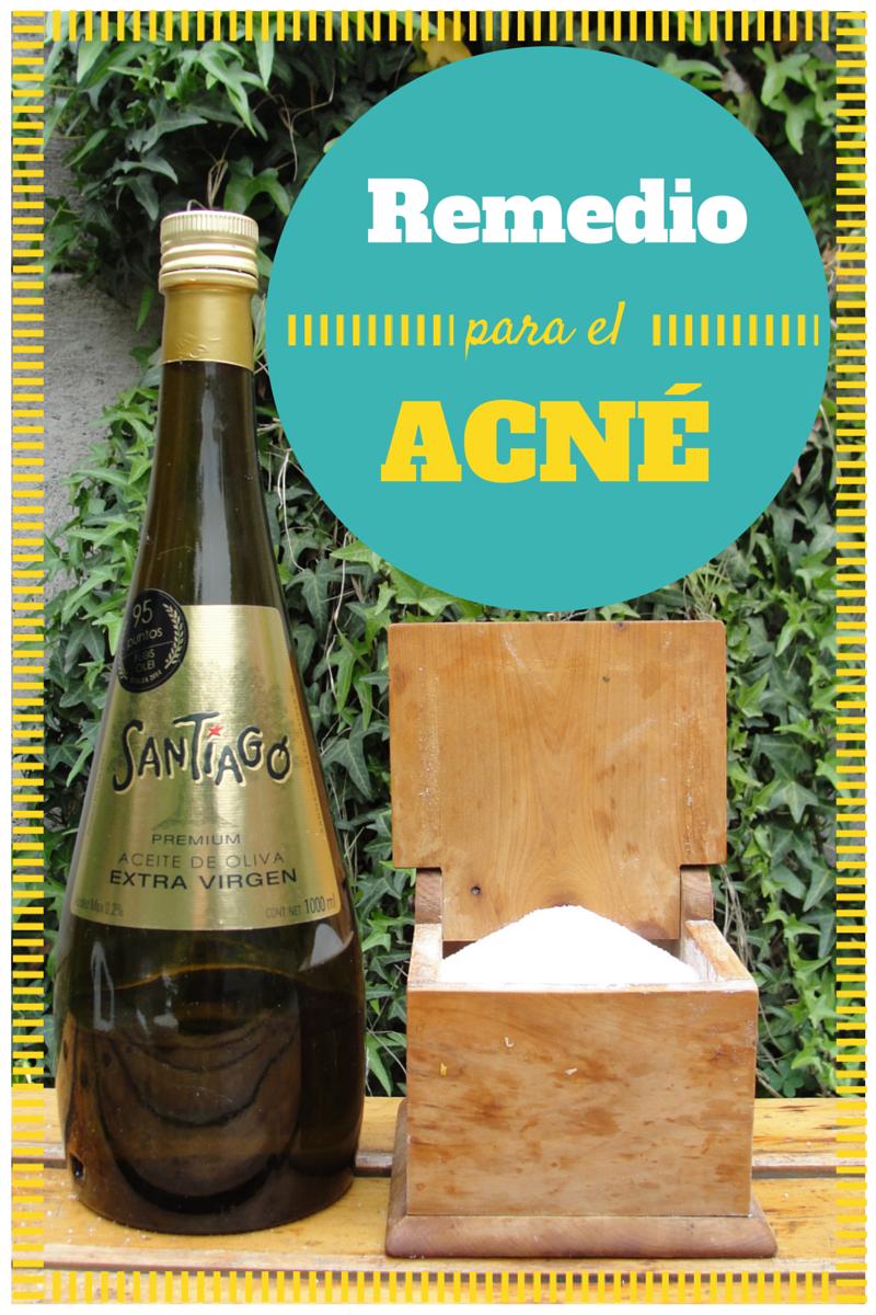 Remedio casero y natural para el acné